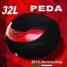 (32L) 2015 PEDA MOTOR NEW motorcycle TOPCASE top PP box tail boxes Italian fasion design (PEDA MOTOR high quality)