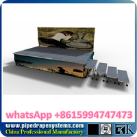acrylic floor floor covering,wedding stage aluminum stage trailer mobile stages