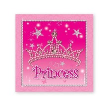 PRINCESS BEV NAPKIN 16CT #34348