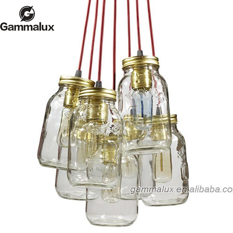 Clairage int rieur pot de confiture lumi re bouteille for Lampe pot de confiture