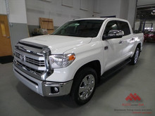 2015 White on Brownt Toyota Tundra 1794 Edition 4x4 Crew Max 5.7L - Export version!!! KM/H and Celsius - available NOW
