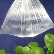 Plastic bag with environment