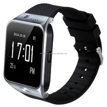 "Luxury 1.54"" Touch Screen Bluetooth Smart Watch Quad Band GSM for android phone"