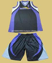 Sublimación coolmax de baloncesto conjunto uniforme