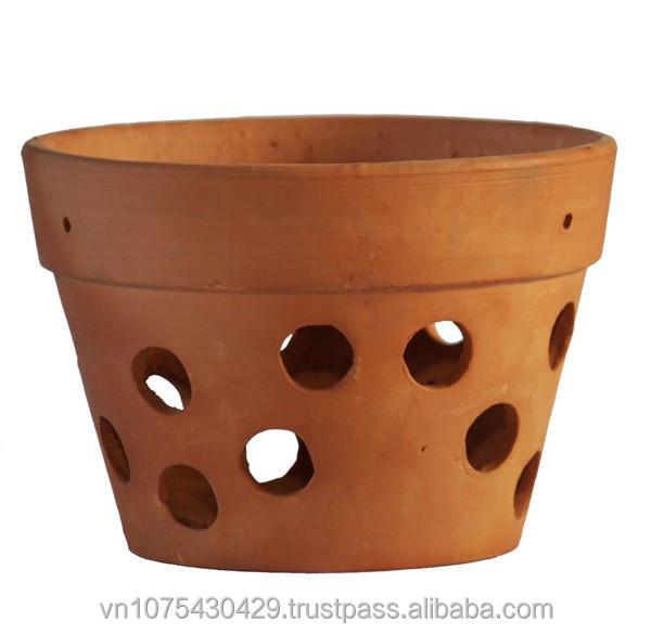 Orchid Terracotta Wholesale Cheap Ceramic Flower Pots