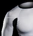 Chegada nova: alta qualidade uv lycra surf camisa rashguard uv