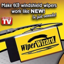 Wiper Wizard Windshield Wiper Blade Restorer - Renew Old to New