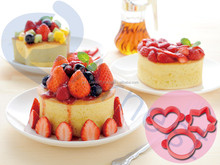 Arnest cookware cooking tools utensils silicone 3 sweets pancake cake cups frame molds set 75853