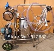 "$ aircargo newly ""single bucker"" vacuum cow milking machine"