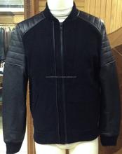 Para hombre de la motocicleta chaqueta / chaqueta de cuero de oveja