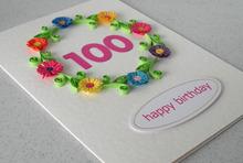 2015 popolare carta di compleanno festa di compleanno invito carte, carta della carta di stampa, biglietto di auguri