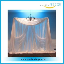 good quality pipe and drape photo backdrop,portable pipe and drape for sale
