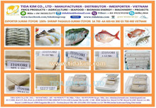 100% ITOYORI SURIMI- SHRIMP - PANGASIUS Mix KA300 AA 400 GS 600 700 TIDA KIM VIETNAM EXPORTER