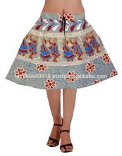 Sweet & Chic señora Stretch cintura faldas cortas