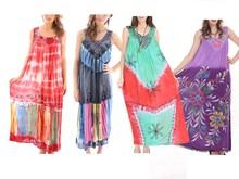 Closeout Women's Random Closeout Indian Long Dresses