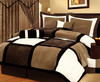 hot sale wedding bed sheet with low price and high quality white and black design