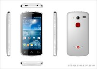 Android 4.0.4 smart old man phone/high quality mobile phone /CE&FCC old man phone made in china