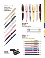 Metal Mini Ballpoint pen and pocket and wallet pens