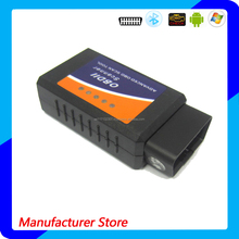 Bluetooth Auto Diagnostic Tool OBD2 OBDII ELM327 V2.1 Bluetooth Car Interface Scanner Compatible with Torque Pro, Lite