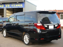 used Toyota Alphard 2009 black from Japan