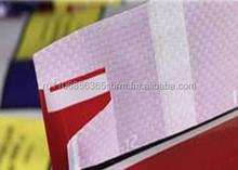 Polypropylene sleeve, polypropylene fabric