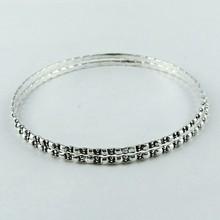 Oxidado Designer pulseiras em prata de lei 925 jóias de prata artesanais
