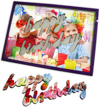 Blank Sublimation MDF Jigsaw Puzzle Birthday Gift Wooden Puzzle,Puzzle Jigsaw