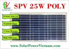 25W Poly solar panel - Germany Solar Cell - SPV25P