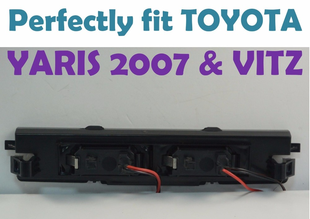 how to change yaris brake light