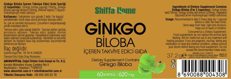 Ginkgo Label