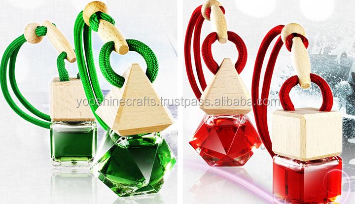 Essential oil Car Freshener, Car Freshener in diamond bottle, car fragrance, Deodorant