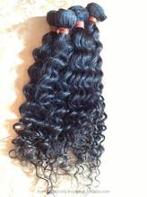 Hair extension can be dyed 40 inch 2015 Grade 7A Virgin Hair Raw Unprocessed Virgin Brazilian Hair/Peruvian Hair/Malaysian Hair