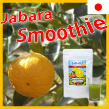 Jabara Japanese citrus fruit flavor powder smoothie for daily drinking