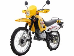 Latest New Yellow 250cc Dual Sport Motorcycle