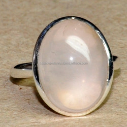 Rose Quartz 925 Sterling Silver Ring Beautiful Design Fancy Ring Natural Ring SER3222