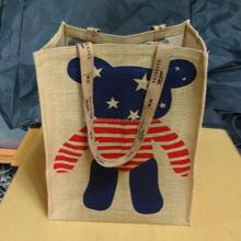 Wholesale GFTCL Jute Shopping Bag/Jute Tote Bag/Jute Gift Bag