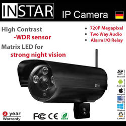 Germany HD Outdoor synology compatible ip camera with Wide Dynamic Range WDR Sensor