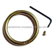 """Bull Ring - Brass - Small 2 1/2"""" X 5/16"""" / Bull Nose Ring / High Quality Veterinary & Animal Instruments"""
