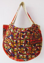 2015 Banjara Gypsy Boho diseñador vintage tribal sari tela india