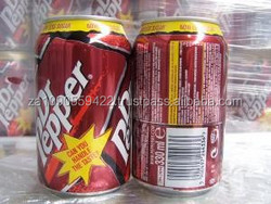 DR PEPPER CANS (24X33CL) ENGLISH TEXT