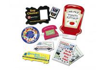 Custom fridge magnet/Promotional fridge magnet/Paper fridge magnet