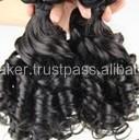 Indian Virgin Elite Spiral Remy Weft Hair