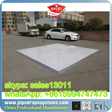 RK dance floor over swimming pool easy assemble and set up
