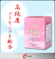 Moisturizing and Reliable collagen from pig skin placenta supplement with Effective for menopause made in Japan