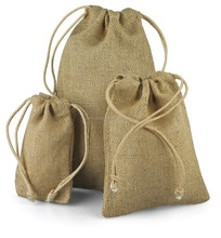 Wholesale Burlap Bag Small Gift Bag Jute Bag
