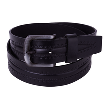 100% high guality genuine leather Belt Brown