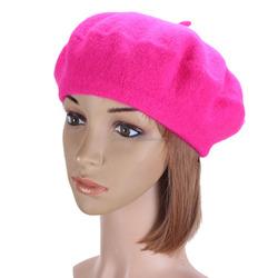 Autumn Winter Vintage Wool Berets Caps Womens Mens Classic Solid Beret Hats Man Ladies Outdoor Sport Warm Baggy Ski Cap Hat