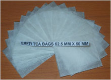 62.5 x 55 mm Empty Tea Bags Without String & Tag