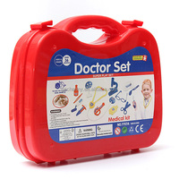 Simulation Medicine Kit Suit Boys Kids Children Gift Present Birthday Doctors Nurses Educational Toy Medical Kit Role Model Play