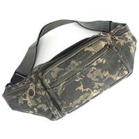 Outdoor Canvas Sport Mobile Waist Packs Man Jogging Climbing Bag Pouch Money Belt Fashion Pack Durable Camouflage Color Cool